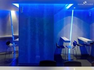 Iluminación Comercial. Lounge & Bar en Medina de Rioseco, Valladolid. Iluminación LED.