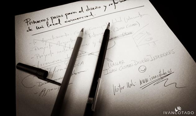 Primeros pasos para el diseño y reforma de local comercial