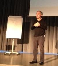 Ferran Adrià dando lecciones de creatividad e innovación en A Coruña