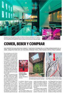 Dos proyectos gallegos entre los mejores restaurantes, bares y tiendas del mundo. La Voz de Galicia