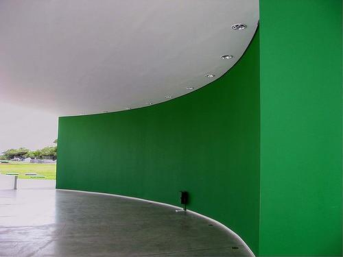 Cómo elegir colores para pintar una casa o un negocio. Estación Cabo Branco en Joao Pessoa (Brasil) de Oscar Niemeyer.
