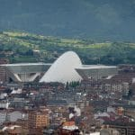 Palacio de congresos de Oviedo. Santiago Calatrava