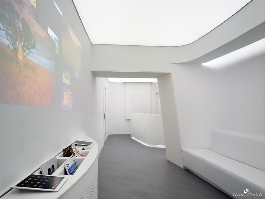 Diseño clínica Gómez Bravo en Madrid