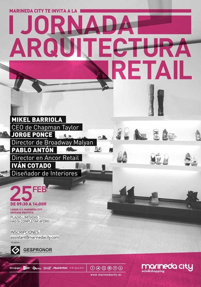 Jornada de Arquitectura y Retail en Marineda City de A Coruña