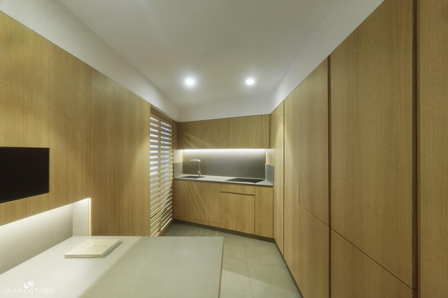 Diseño y reforma de piso en Galicia. Cocina