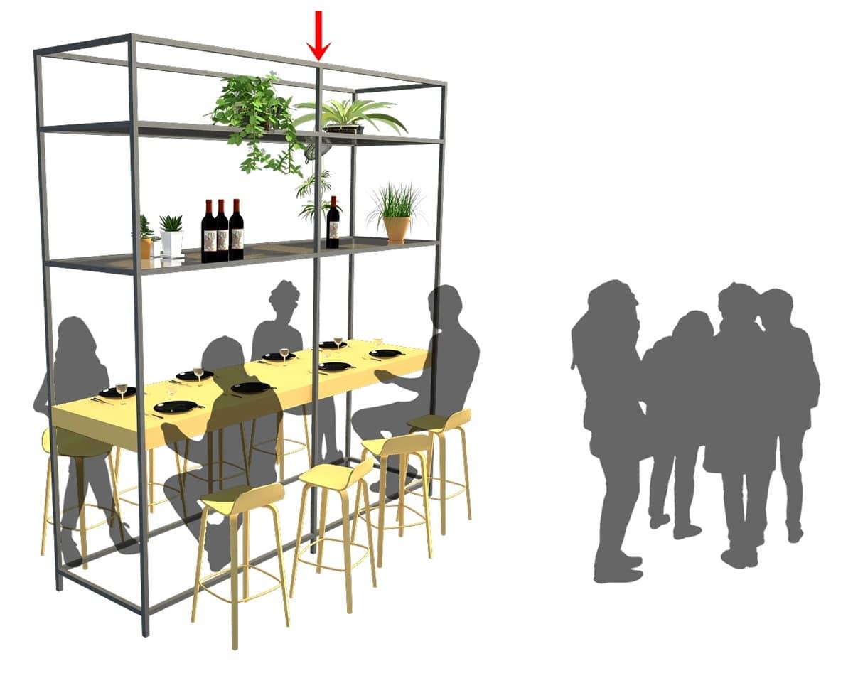 El diseño de esta barra hace perder al restaurante 56 mil € por año