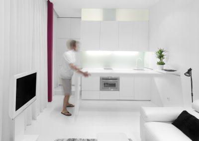 Diseño de mini-apartamento en Madrid