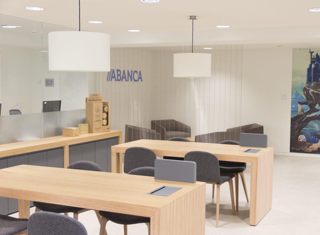 Nueva oficina insignia de Abanca en A Coruña