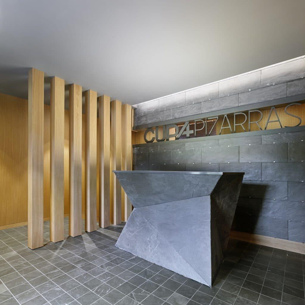 Recepción del nuevo Showroom experiencial de Cupa Pizarras en Galicia