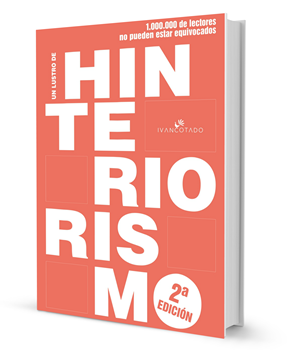Portada libro Un lustro de Hinteriorismo. Segunda edición. Enero 2019