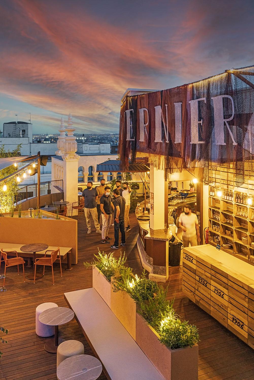 Diseño Le Tavernier Madrid - Vista aérea